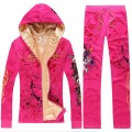 ED Hardy Long Suits Love Kill Slowly Rose Red For Women