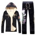 ED Hardy Long Suits Peacock Black For Women