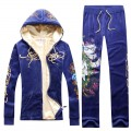 ED Hardy Long Suits Peacock Blue For Women