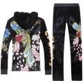 ED Hardy Long Suits Phoenix Roses Black For Women