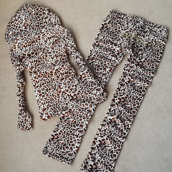 ED Hardy Long Suits Yellow Leopard For Women
