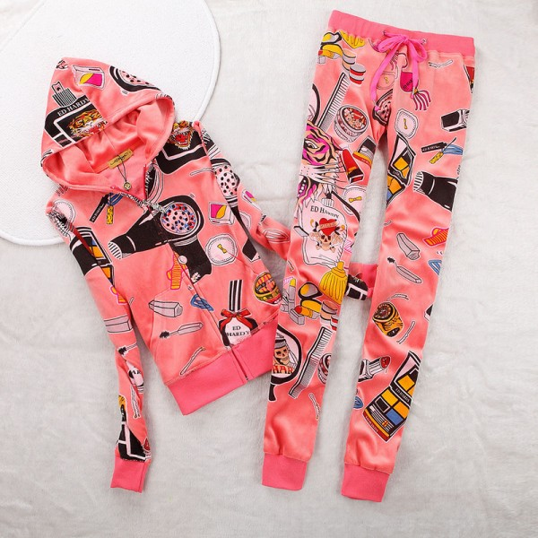 ED Hardy Womens Long Suits Accessories In Pink