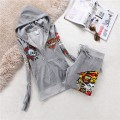 ED Hardy Womens Long Suits Blend In Grey