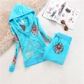ED Hardy Womens Long Suits Classic Love Kill Slowly In Light Blue