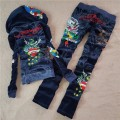 ED Hardy Womens Long Suits Peacock Love In Deep Blue