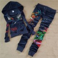 ED Hardy Womens Long Suits Tiger Logo In Deep Blue