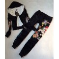 ED Hardy Womens Thick Long Suits Love Kill Slowly In Black