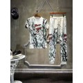 Ed Hardy Mens Short Suits Love Kill Slowly In White
