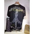 Ed Hardy Mens Short Suits Love is A Gamble In Black
