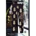 Ed Hardy Mens Short Suits Money Skull In Black