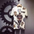 Ed Hardy Mens Short Suits Tiger And Logos In White