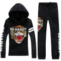Ed Hardy Mens Suits Classic Tiger Black Diamond For Sale