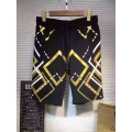 Ed Hardy Mens Suits Short diamond Tiger In Gold Black