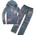 Grey LKS Plus Size Ed Hardys Suits Shop London
