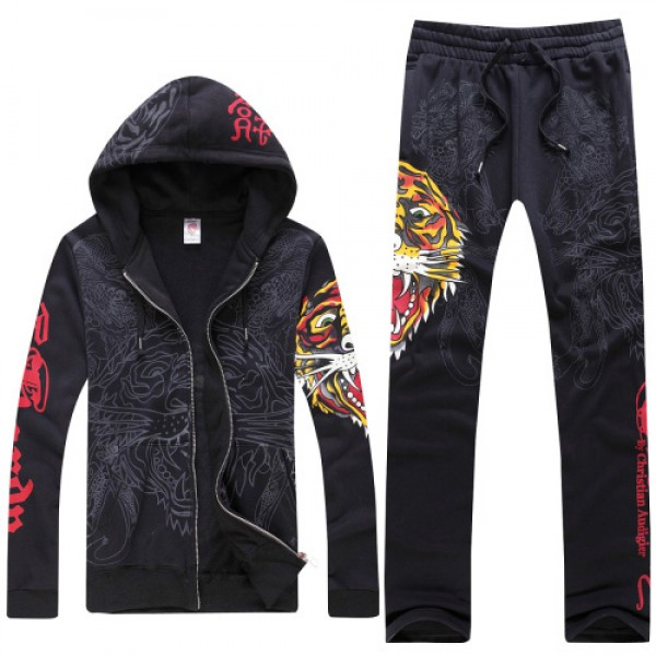 Tiger Black Don Ed Hardy Original Site Mens Suits