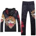 Tiger Black Don Ed Hardy Original Site Mens Suits