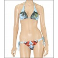 Blue Womens Ed Hardy Swimsuit Bikini Cyprinoid Store