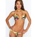 Ed Hardy Swimsuit Bikini Cyprinoid Yellow For Women