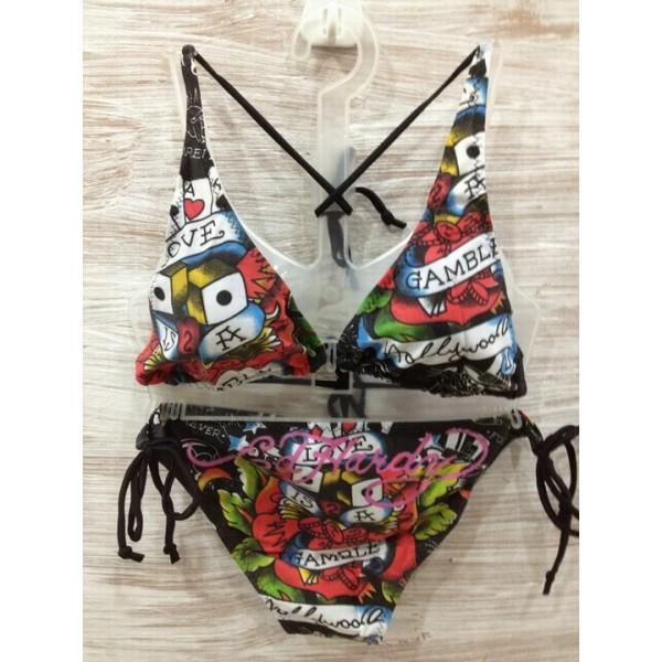 Ed Hardy Womens Swimsuit Bikini Love Is A Gamble  Online