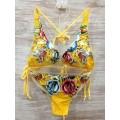 Ed Hardy Womens Swimsuit Bikini Rose Tiger Store UK