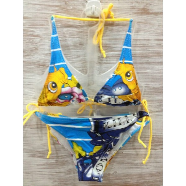 Plus Size Womens Ed Hardy Swimsuit Bikini  Cyprinoid