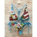 Shop Womens Ed Hardy Swimsuit Bikini Love Is A Gamble Online