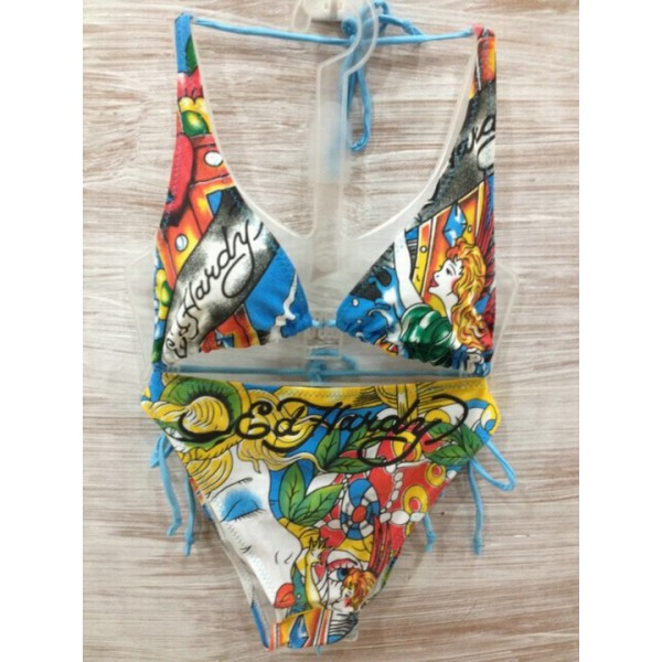 Womens Ed Hardy Swimsuit Bikini Cross Angel Canada