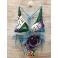 Womens Ed Hardy Swimsuit Bikini Love Life Ladies