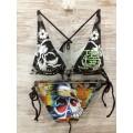 Womens Ed Hardy Swimsuit Bikini Skull Pictures