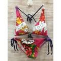 Womens Ed Hardy Swimsuit Bikini Ture To My Love Original