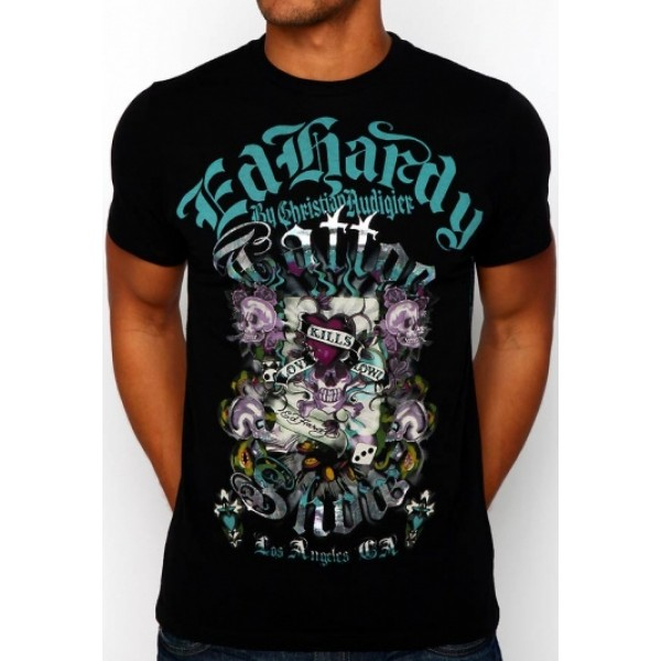 Black Skull Ed Hardy T Shirts Mens Shop Online