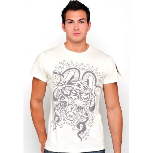 Cobra Tiger T Shirts Ed Hardy Mens Singapore