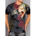 Discount T Shirts Mens Ed Hardy Black CA UK Shop