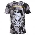 ED Hardy Mens Short T Shirts Camouflage Love Kill Slowly
