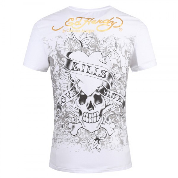 Ed Hardy T Shirts Love Kill Slowly Grey For Men
