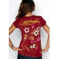 Ed Hardy T Shirts Red Love Kill Slowly For Women
