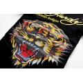 Ed Hardy T Shirts Tiger Logo Black For Women