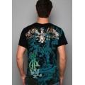 Mens Don Ed Hardy Designs T Shirts Lion Black