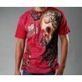 Mens T Shirts Ed Hardy Tattoo Design Red CA