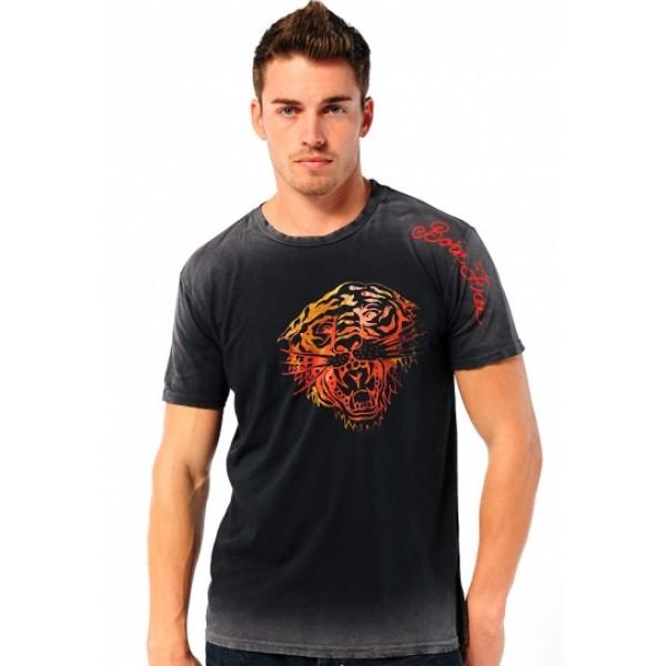 Mens T Shirts Tiger Black Ed Hardy Store Design