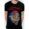 Punk Dog T Shirts Ed Hardy Mens Plus Size