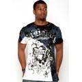 Shop Mens T Shirts Ed Hardy LKS White Black Online