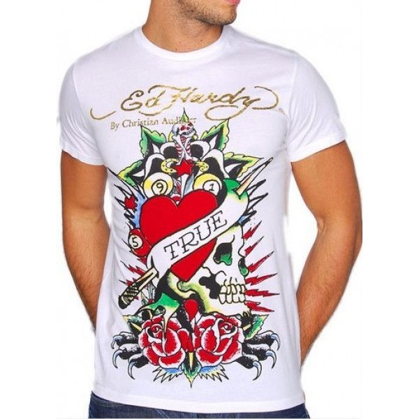 Stores Ed Hardy Mens T Shirts True Love Clothing UK
