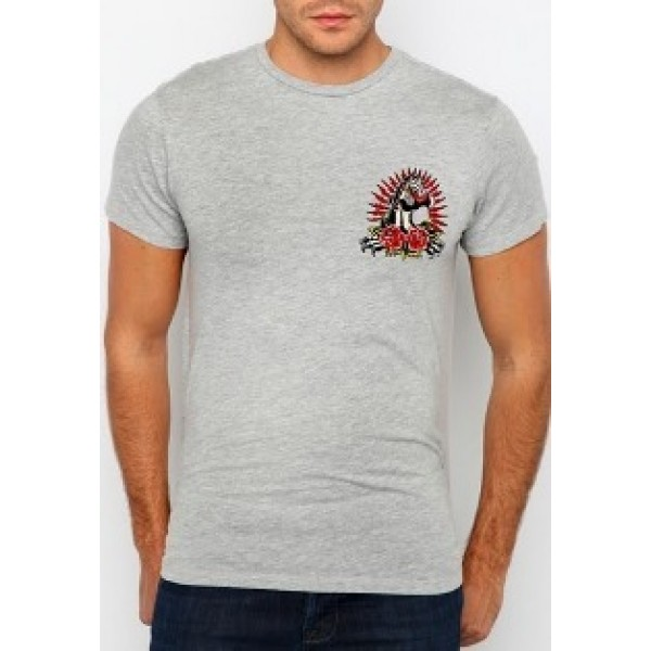 Where To Buy T Shirts Ed Hardy Mens Leopard Grey