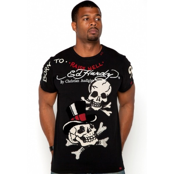 Breaking Heart T Shirts Ed Hardy Tattoo Shop Mens