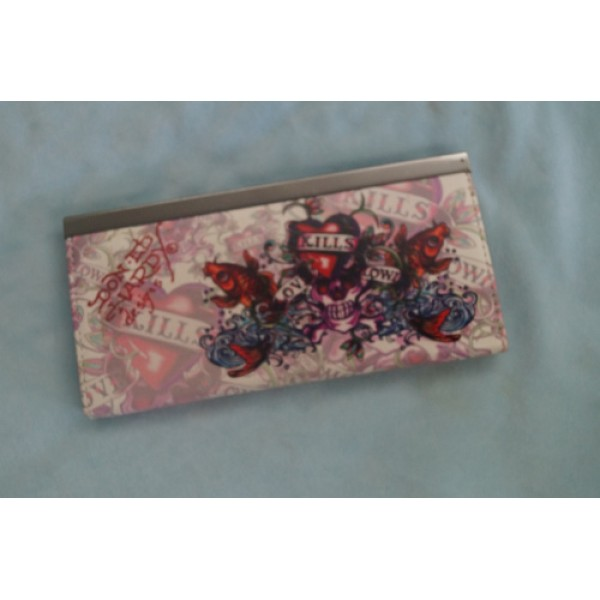 Ed Hardy Purse Love Kill Slowly Cyprinoid