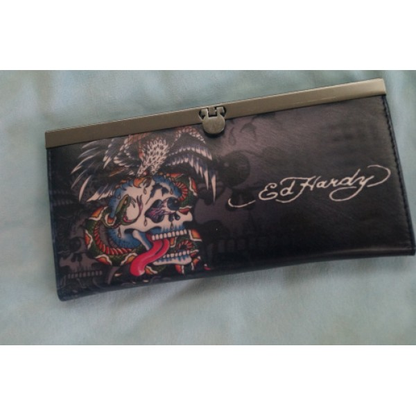 Ed Hardy Purse Skull Eagle Cobra