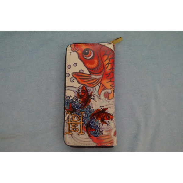 Ed Hardy Wallets Cyprinoid Ivory