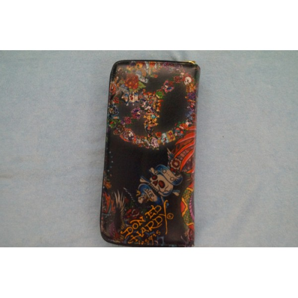 Ed Hardy Wallets Do Or Die Black