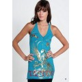 Blue Phoenix Ed Hardy Womens Dresses Outlet